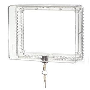Honeywell Home Honeywell CG511A1000 Medium Inner Shelf to Prevent Tampering Thermostat Guard, White
