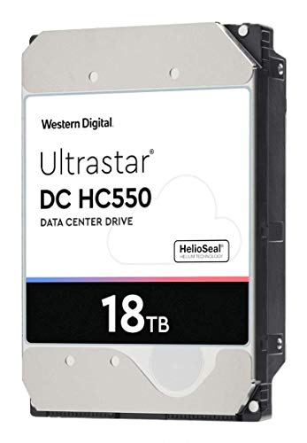 """Western Digital WUH721816ALE6L4 3.5"""" 16TB SATA 6Gb/s7.2K RPM 512M 0F38462 512e/4Kn HDD"""