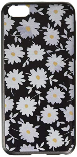 Carcasa de Gel para teléfono Celular, Color Verde, iPhone 5C, Blanco/Negro