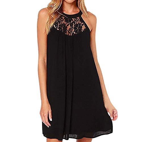 Club Dresses for Women, Aanny Women Casual T-Shirt Summer Dresses Floral Bohemian Dress Swing Boho Sundress Sleeveless