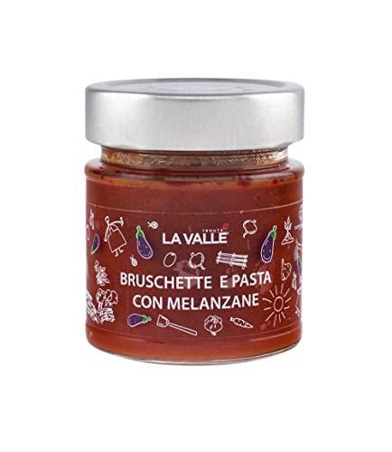 Bruchette en pasta, met aubergine, houdt La Valle 190 g, verpakking met 6 stuks