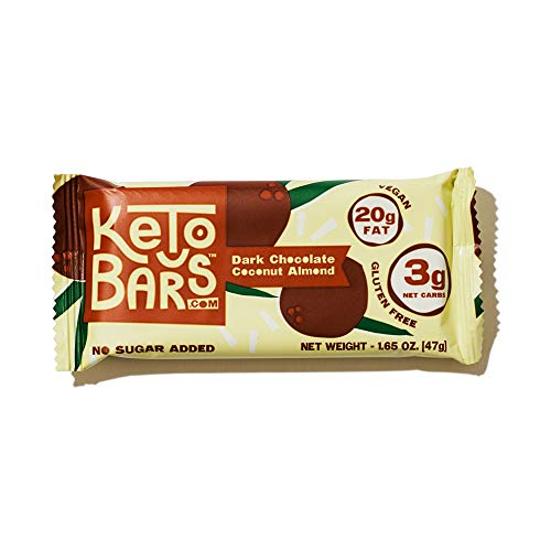 Keto Bars The Original Keto Snack Bar, Gourmet Simple Ingredients Low Carb, No Sugar, Rich in Ketogenic Fats, The Perfect KetoBars Snacks for Keto Diet Food Products (10 Pack, 1.65 ounce) 4