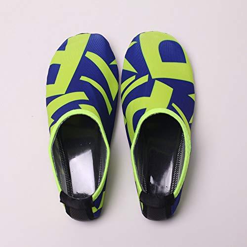 Yoga Et Barefoot 2019 De En Printemps D'eau Unisexes Chaussettes Sports Nautiques Plage Plongée Pieds Été Chaussures mounter Nus Bleu wBqx1q
