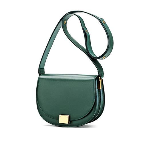 En Sac Travail Main Bandoulière Pour À Green Klerokoh Femme color Scolaire Petit De Cuir Voyage Black wt1dfWq