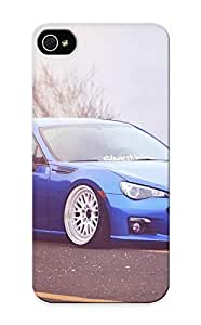816cd191737 Tpu Phone Case With Fashionable Look For Iphone 5/5s - Subaru Vehicles Cars Suto Tuning Stance Wheels Blue Case For Christmas Day's Gift