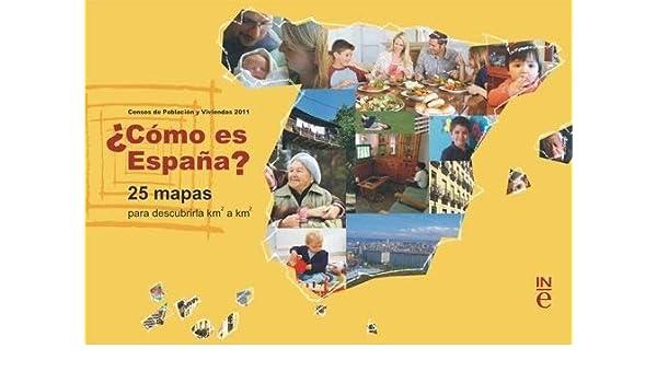 Cómo es España? 25 mapas para descubrirla km2 a km2: Amazon.es ...