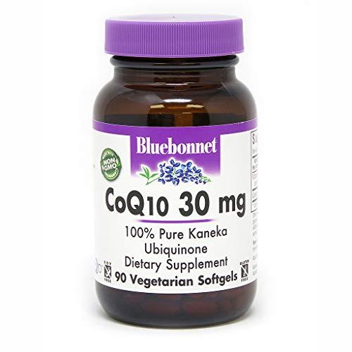 Softgels 30 Vegetarian (BLUEBONNET Nutrition COQ10 30 mg Vegetarian SOFTGELS)