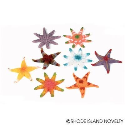 (24) Assorted Colorful STARFISH ~ 2DZ Luau Party FAVORS Decor ~ Beach Wedding Birthday Hawaiian Favors ~ Table Decoration ~ Summer Under the Sea Fun Gift ~ 3'' Starfish New (Under The Sea Table Decorations)
