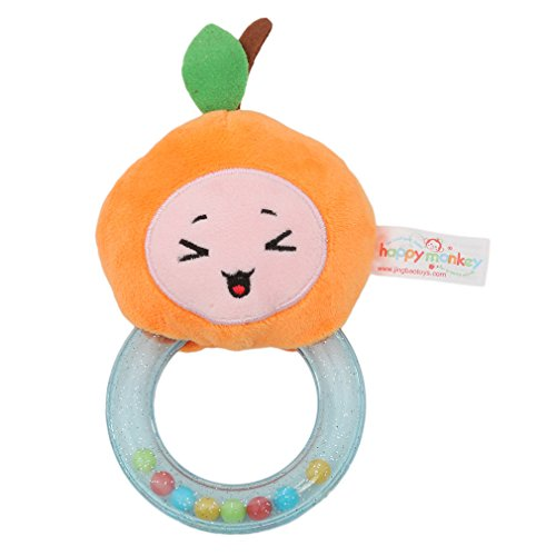Meolin Soft Ring Rattle for Newborn Infant Newborn Baby - Ring Towel Bb
