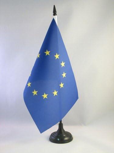 AZ FLAG Bandera de Mesa de Europa 21x14cm - BANDERINA de DESPACHO ...