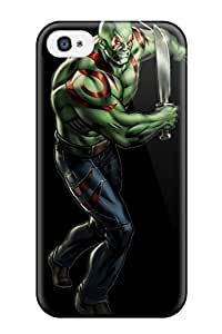 Brandy K. Fountain's Shop New Style 4305705K12732898 Iphone 4/4s Cover Case - Eco-friendly Packaging(drax The Destroyer)
