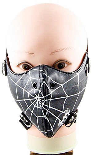 Qiu ping Men and women rivet rock mask personality motorcycle mask by Qiu ping