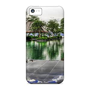 Awesome Fabulous Pool In A Malaysia Resort Hdr Flip Case With Fashion Design For Iphone 5c