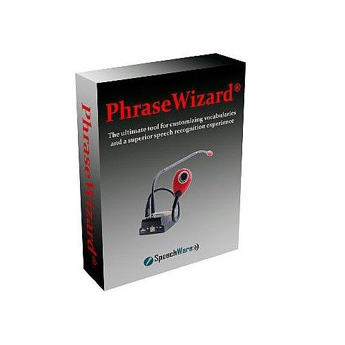 SpeechWare PhraseWizard for Dragon Naturally Speaking - One User Per License