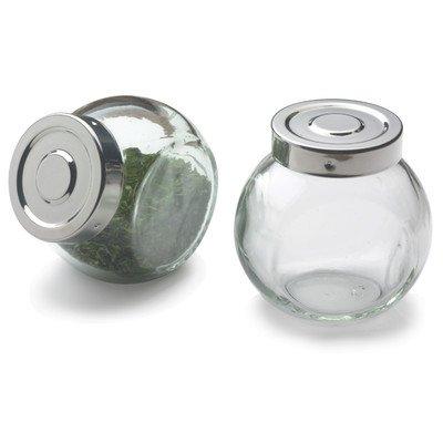 RSVP INTERNATIONAL Glass Ball Spice Jars, 1 EA