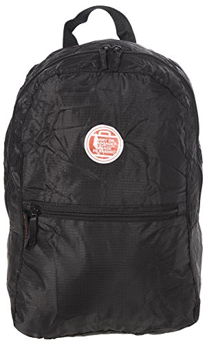 air-canada-lightweight-fold-away-travel-carry-on-backpack-black