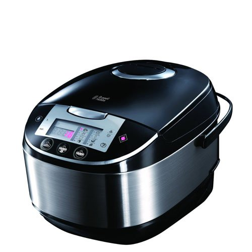 Russell Hobbs Multi-Cooker 21850, 5 L - Stainless Steel Silver and Black