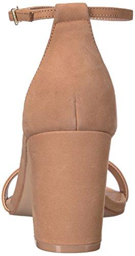 Steve Madden Vestido Declair Sandalia Camello Nubuck De Las Mujeres Calidad Original Venta barata para Niza Explora en línea Descuento Auténtico Z9rvZvveGX
