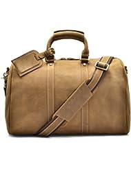 Hølssen Duffel Weekender Overnight Travel Genuine Leather Bag