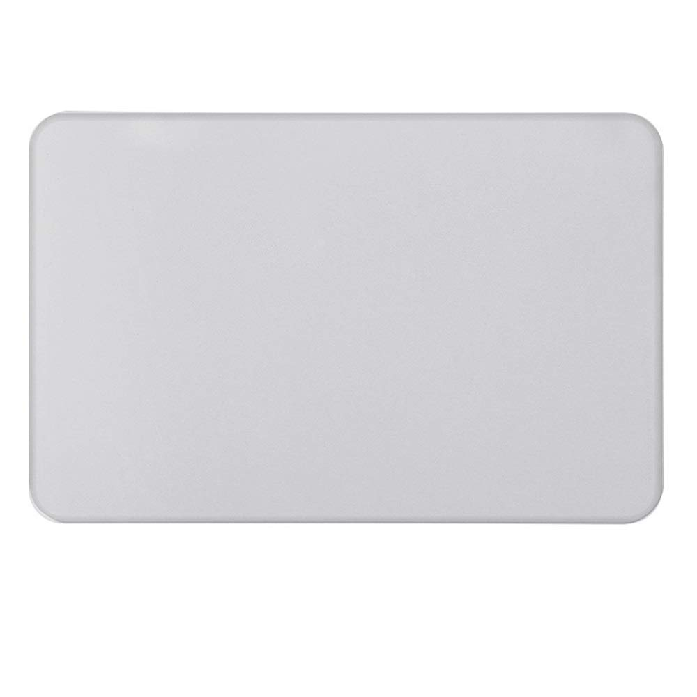ETH Light Gray Natural Diatomaceous Earth Bath Mat Absorbent Water Quick-Drying Does Not Fade Furniture Versatile Brushed Surface Mat (Size : 3030)