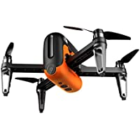 Leewa@ M5 GPS WIFI FPV RC Drone With Ultrasonic Altitude Holding Point RTF -Orange