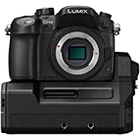 Panasonic DMC-GH4-YAGH Lumix DMC-GH4 4K Micro Four Thirds Digital Camera & DMW-YAGH 4K Video Interface Compact System (Black)