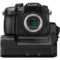 Panasonic DMC-GH4-YAGH Lumix DMC-GH4 4K Micro Four Thirds Digital Camera & DMW-YAGH 4K Video Interface Compact System (Black)