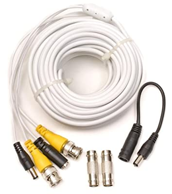 Q-See 50FT BNC Video & Power Cable with 2 Female Connectors by Q-see