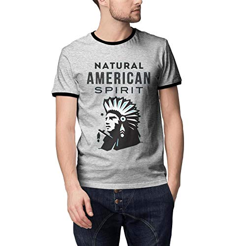 LONGERTW Man's Cool Natural-American-Spirit-Knitted Shirts -