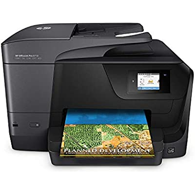 Officejet Pro 8710 All-in-One Printer  Instant Ink Compatible Black  includes full spare ink set