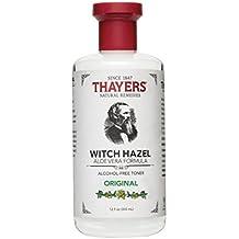 Thayers Facial Toner, Original Witch Hazel, Aloe Vera Formula, 12 Fluid Ounce