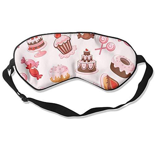 (AFJ234F666 Circle Pattern Sleeping Mask for Travelling, Night Noon Nap Comfortable Sleep Eyes)