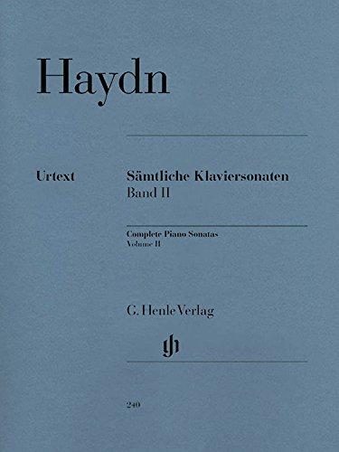 Haydn: Complete Piano Sonatas - Volume II (Haydn Piano Sheet Music)