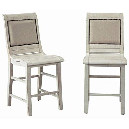 Progressive Furniture Willow Dining Counter Upholstered Chairs (Furniture Willow)