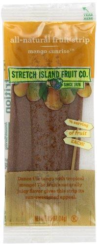 Stretch Island Original Fruit Leather, Mango, 30 -  0.5-Ounce Bars Per Box