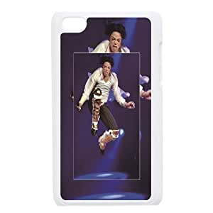 Singer Michael Jackson hard shell case cover for Apple iPod Touch 4 Custom Design AKL239813
