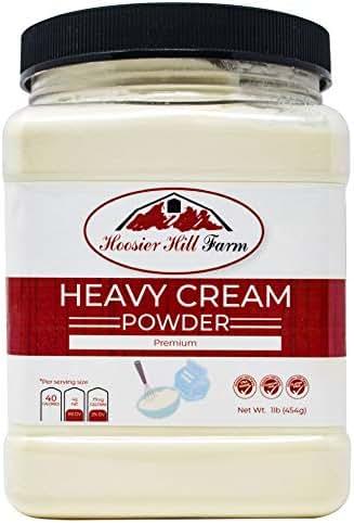 Hoosier Hill Farm Heavy Cream Powder Jar, 1 Pound