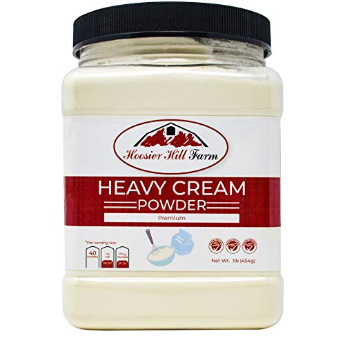 Discover Bargain Hoosier Hill Farm Heavy Cream Powder Jar, 1 Pound