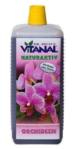 vitanal Natural activo Orquídeas.. pura biológicamente respetuoso con el medio ambiente. ... 1 L: Amazon.es: Jardín