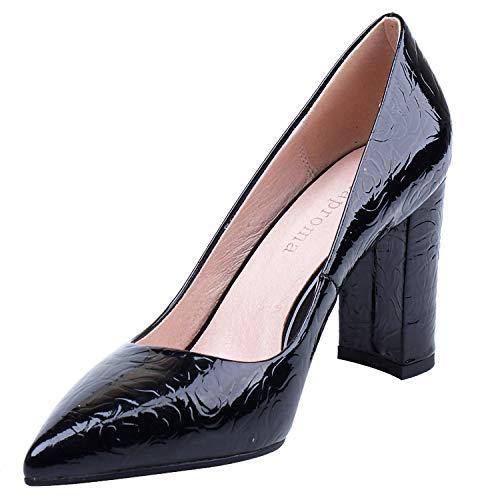 Noir Escarpins Femme SA 36 pour Noir ZAPROMA 036 5 EU YWU4OEqnwn