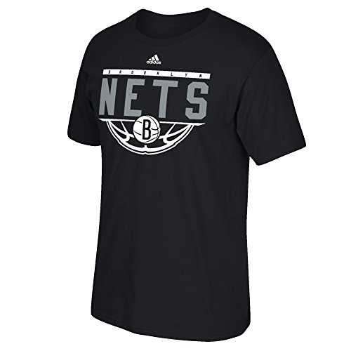 fan products of NBA Brooklyn Nets Men's Balled Out Go-To Tee, Large, Black
