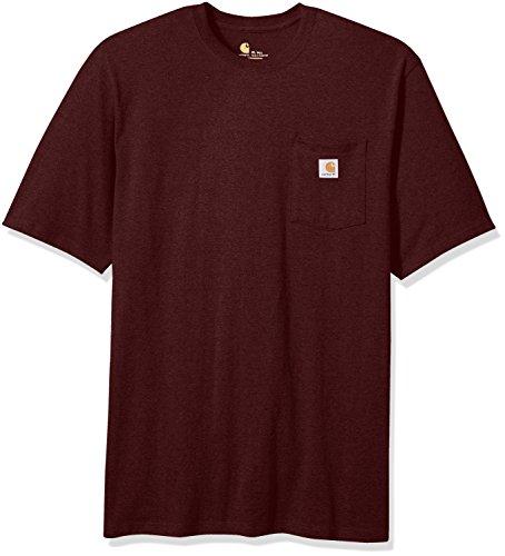 Carhartt Mens Big & Tall Workwear Pocket Short-Sleeve T-Shirt