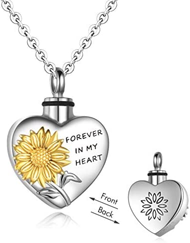 YFN Necklaces Sterling Cremation Necklace