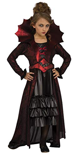 Spider Queen Costumes For Kids - Rubie's Child's Victorian Vampire Costume,