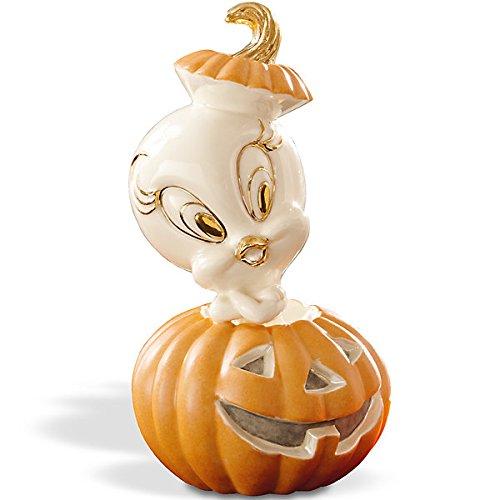 Lenox Tweety's Pumpkin Halloween Figurine (Lenox Pumpkin)