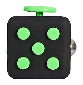 Ratoop Fidget Cube Relieves Stress And Anxiety Attention Toy For Work Class Home