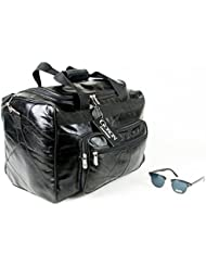 Goson Genuine Leather Duffel tote Bag