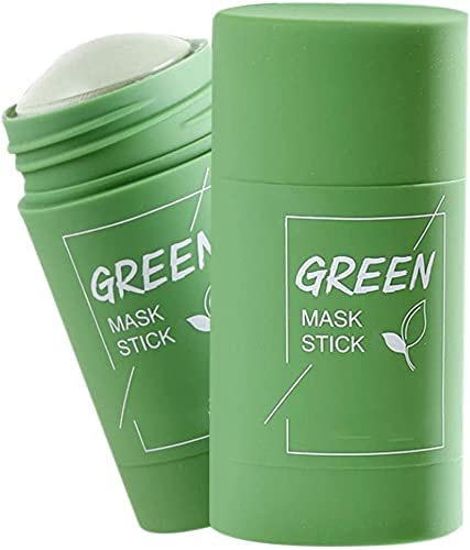 Hot SalePoreless Deep Cleanse Mask Stick Groene Thee Zuiverende Clay Stick Mask Gezicht Hydrateert Olie Controle Magic Green Stick Mask voor Alle Huidtypes 2PCS