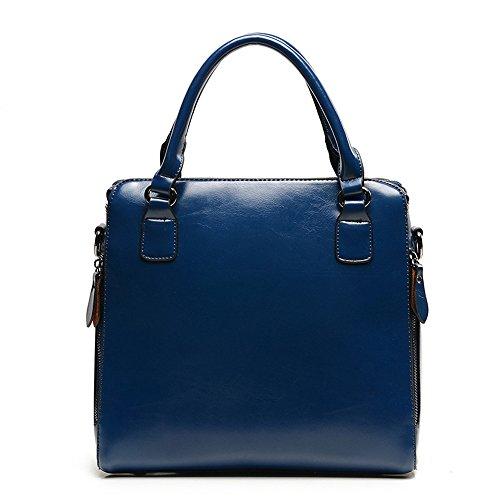 Moda De Blue Azul Sólido Hombro La Nueva Bolsa Simple Bolsos GWQGZ xZ0atqwvZ