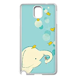 Samsung Galaxy Note 3 Cell Phone Case White_Blowing Bubbles Qglkx